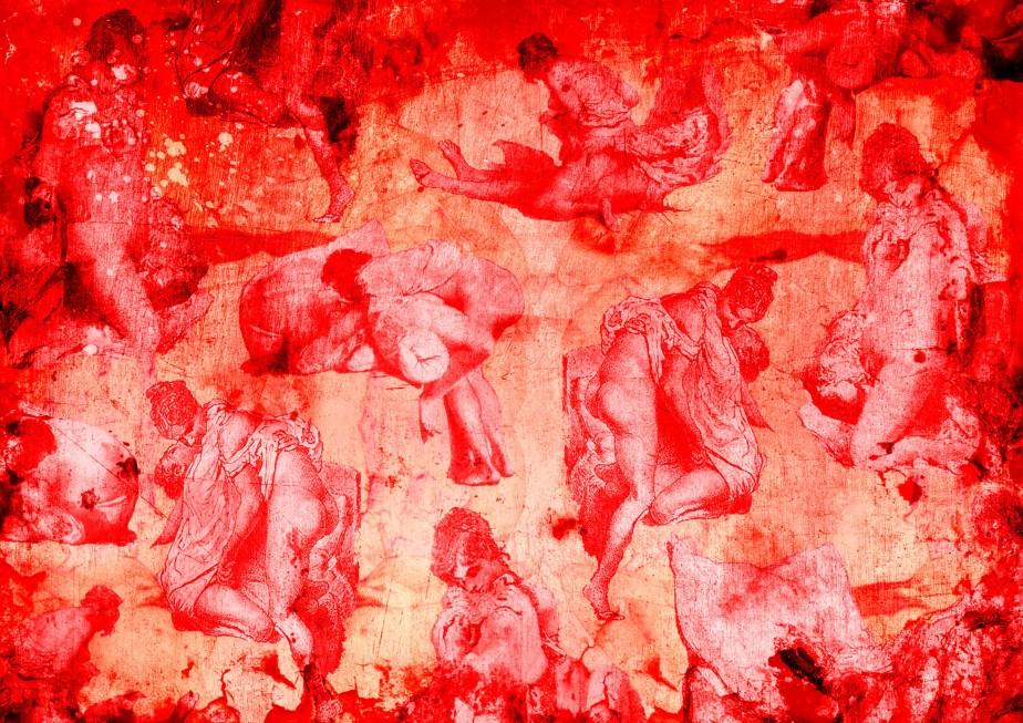 erotica toile du jouey- carolean red 2 SF