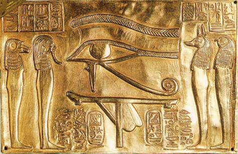 Image result for horus eye statue images