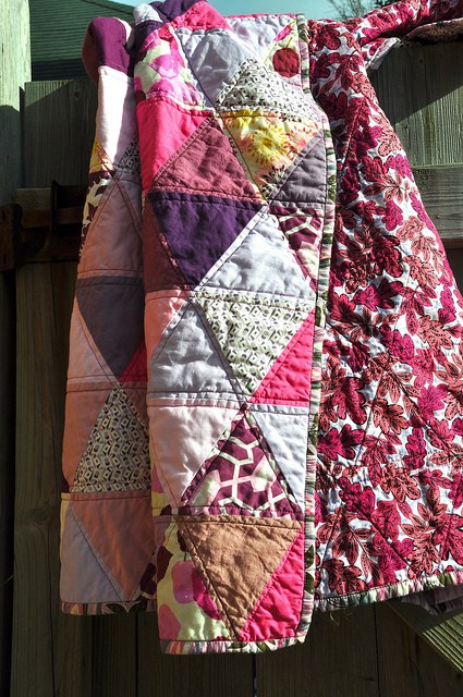 quilting triangles