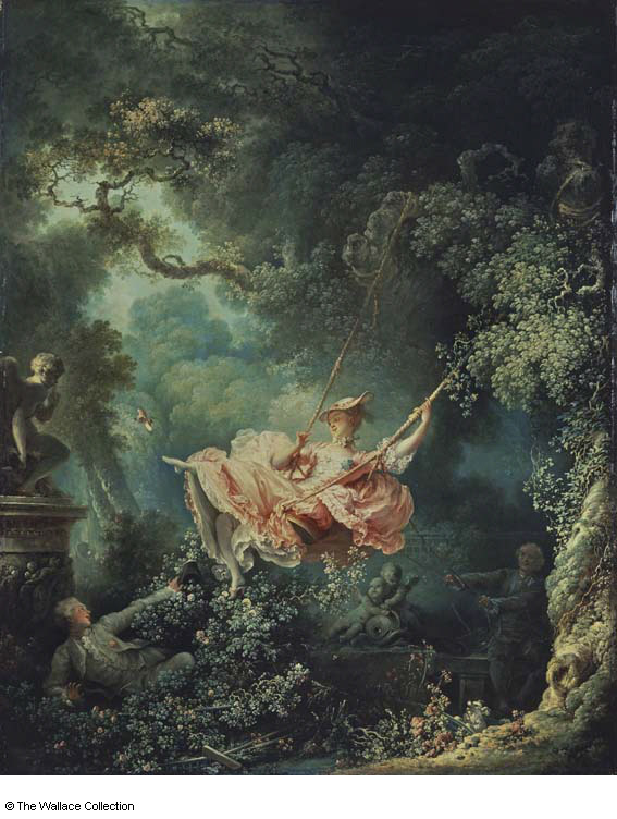 Fragonard -  the swing