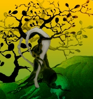 dream tree yellow and green