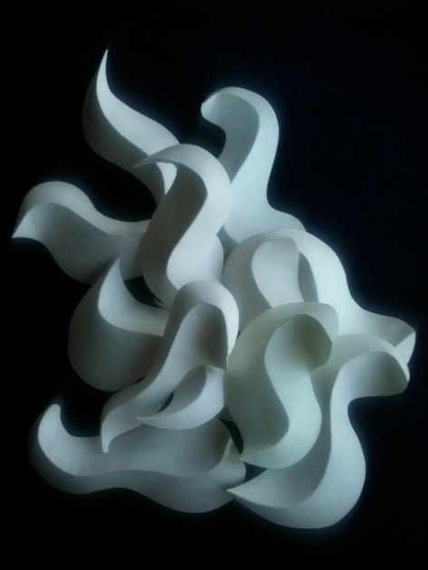 sunshine paper sculpture