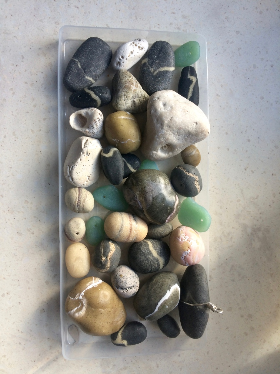 Creating my own beach treasures