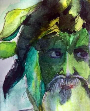 green man watercolour May 2018.IMG_8681 copy